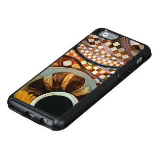 Midnight Never Ends, a Red Checkered Diner Fractal OtterBox iPhone 6/6s Case