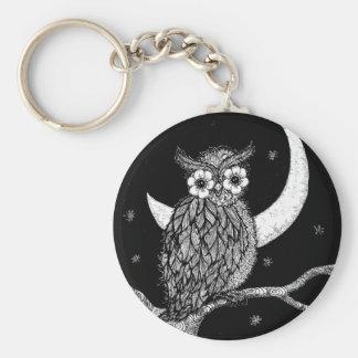 Midnight Owl Key Chain