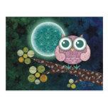 Midnight Owl Postcards
