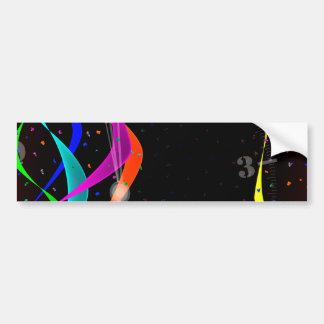 Midnight Party Bumper Sticker