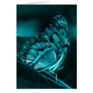Midnight Passion, Blue Butterfly Kisses Card