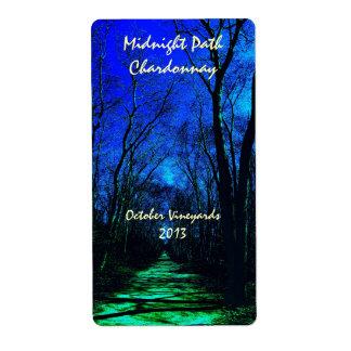 Midnight Path Wine Labels