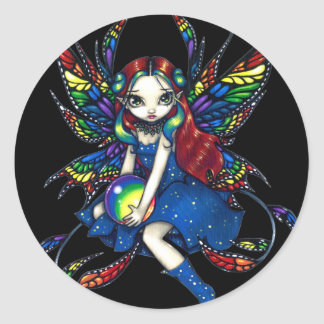 """Midnight Rainbow"" Sticker"