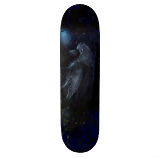 Midnight Raven Customized Skateboarding Deck Skateboard Deck