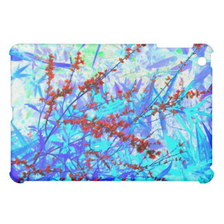Midnight Red Russian Sage Cover For The iPad Mini