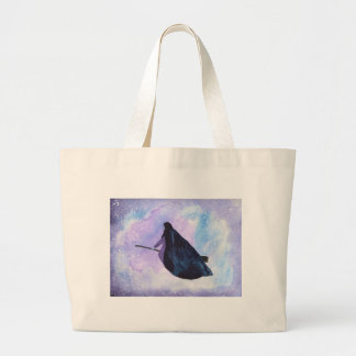 Midnight Ride Large Tote Bag