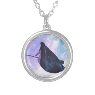 Midnight Ride Silver Plated Necklace