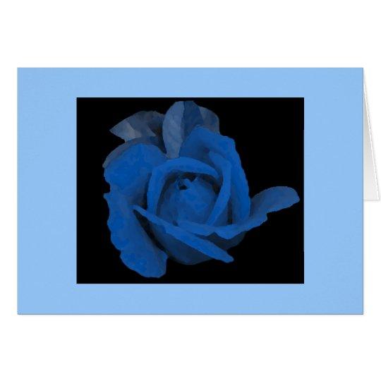 Midnight Rose Card