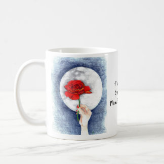 """Midnight Rose"" Coffee Mug"