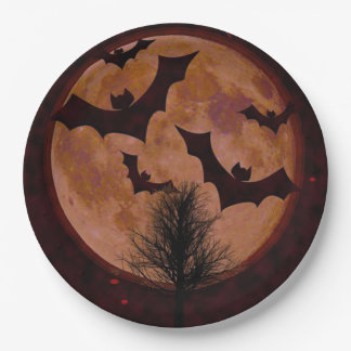 Midnight Roundup Halloween Party Paper Plates