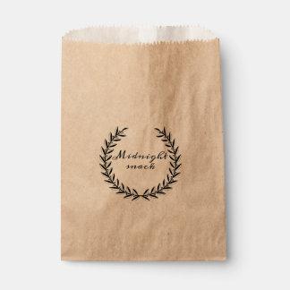 Midnight Snack Wedding Favor Bags