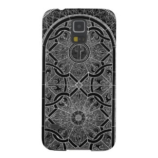 Midnight Stained Glass Black Samsung Galaxy S5 cas Galaxy S5 Cases