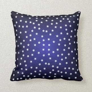 Midnight Stars Throw Pillow
