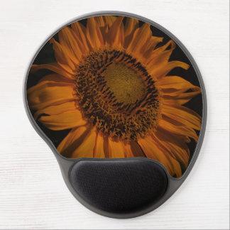 Midnight Sunflower Gel Mousepad