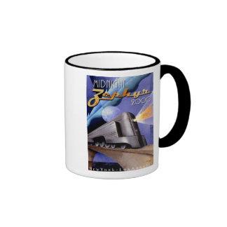 Midnight Zephyr Ringer Coffee Mug