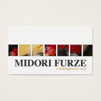 Midori Furze business card
