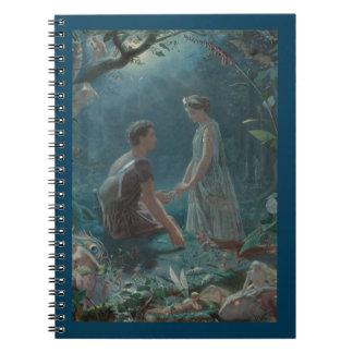 Midsummer Dream Hermia and Lysander Notebook