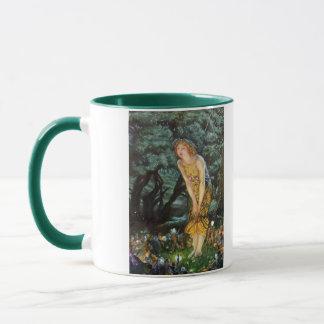 Midsummer Eve, Edward Robert Hughes Mug