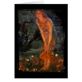 Midsummer Eve Fairy Circle Card