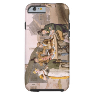 Midsummer Eve, from `Costume of Yorkshire' engrave Tough iPhone 6 Case