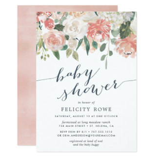 Midsummer Floral | Baby Shower Invitation