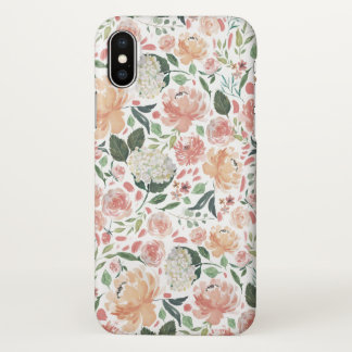Midsummer Floral Pattern iPhone X Case