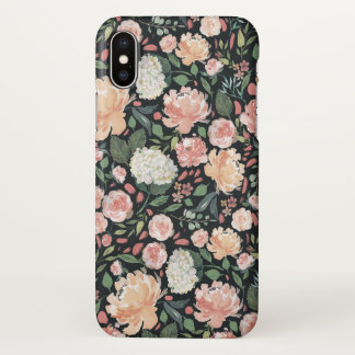 Midsummer Floral Patterned iPhone X Case