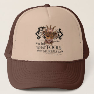 Midsummer Night's Dream Quote Trucker Hat