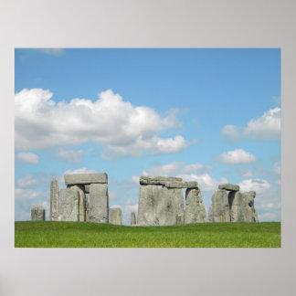 Midsummer Stonehenge Poster