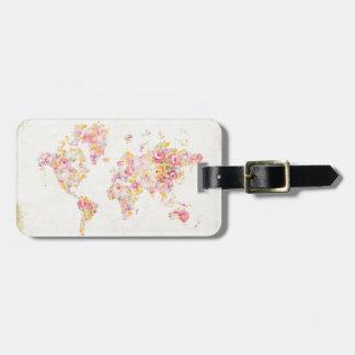 Midsummer World Luggage Tag
