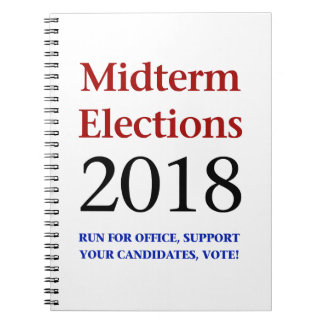 Midterm Elections 2018 Spiral Notebook