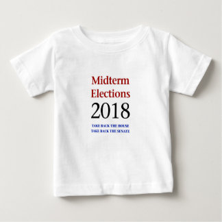 Midterm Elections 2018-Take Back Congress Baby T-Shirt