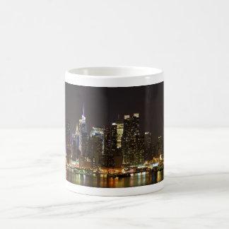Midtown Manhattan as seen from Weehawken NJ Coffee Mug
