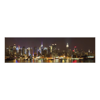 Midtown Manhattan seen from Weehawken New Jersey Photograph