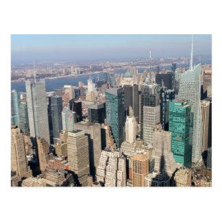 Midtown, New York City, USA. Postcard