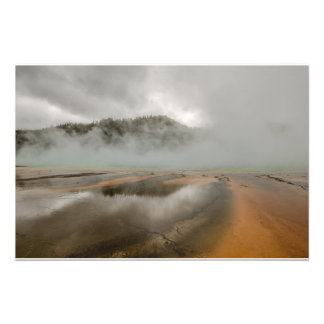 Midway Geyser Basin in Yellowstone National Park Photograph
