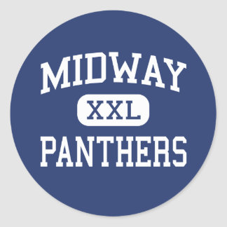 Midway - Panthers - High School - Waco Texas Stickers