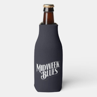 Midweek Blues Bottle Holder Bottle Cooler