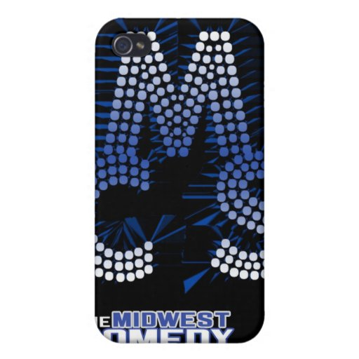 Midwest Comedy PHONEcase (v2) iPhone 4 Case
