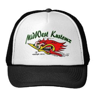 MidWest Kustomz WOODY Trucker Hat