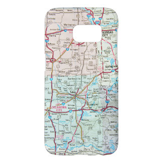 Midwest United States road map
