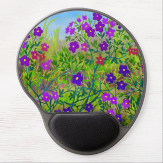 Midwestern Country Wildflowers Gel Mousepad