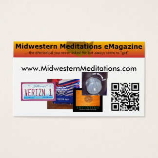Midwestern Meditations Business Card