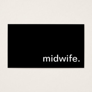 Midwife Business Card