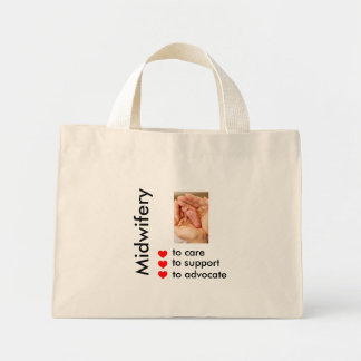 Midwifery Mini Tote Bag