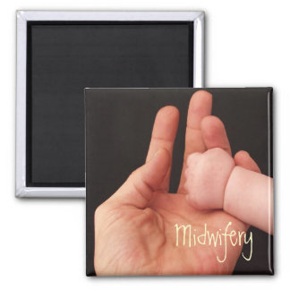 Midwifery Square Magnet