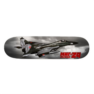 MiG-29 21.3 Cm Mini Skateboard Deck