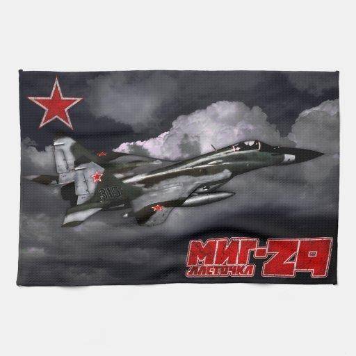 MiG-29 Kitchen Towels