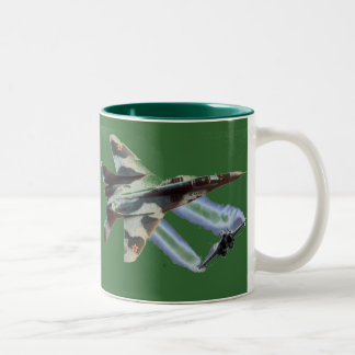 MIG V EAGLE Two-Tone COFFEE MUG