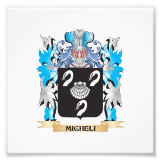 Migheli Coat of Arms - Family Crest Photo Art